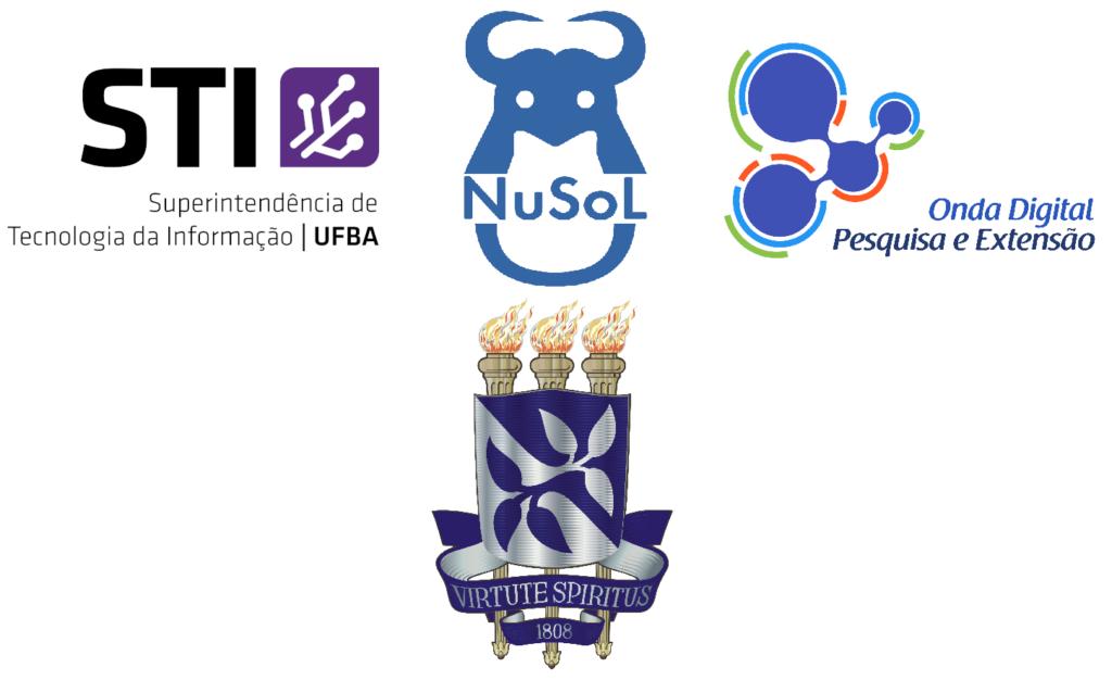 Logomarcas das instituições parceiras